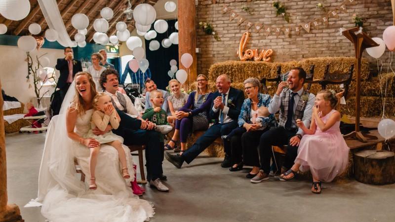 Huwelijksfeest op de boerderij,  a real barnwedding in Groningen