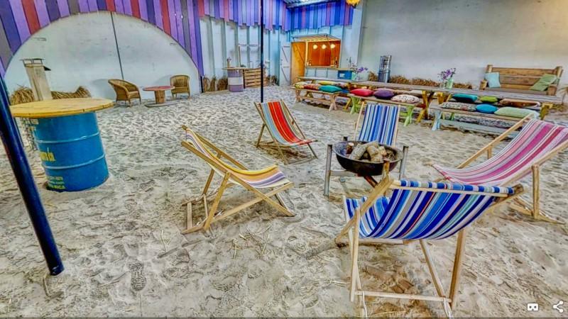 De Barn&Beach van de Hayema Heerd  is dé plek voor een unieke en vrolijke  beachparty?